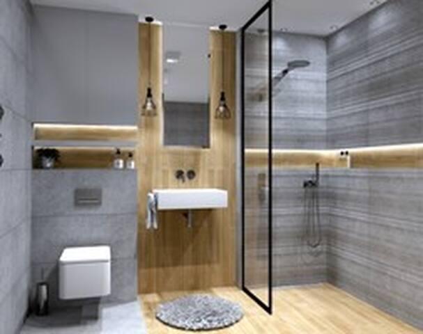 Cosy room in a brand new apartment near centre