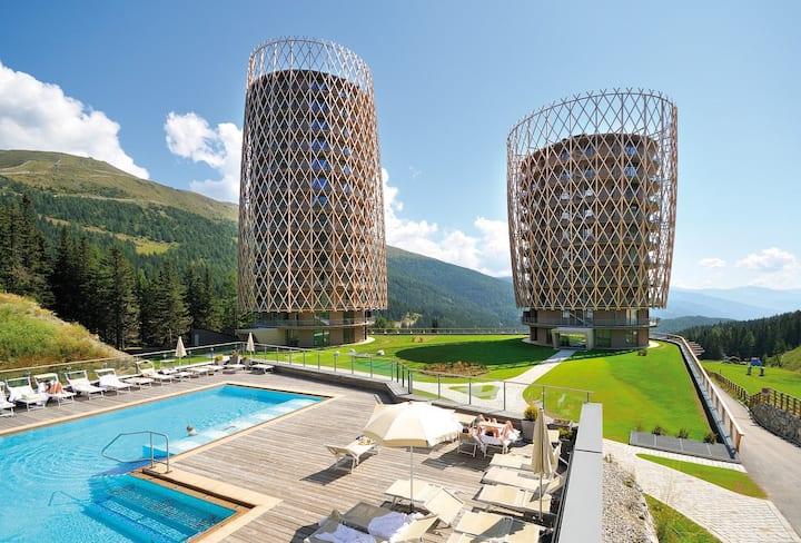 5* Luxe appartement met spa & wellness & zwembaden