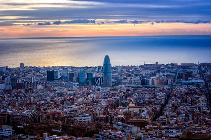 Holidays in Barcelona.