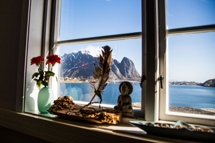 Catogården - The blue room, Reine in Lofoten
