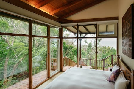 Hualien 花蓮 : Haiyan, A Log Cabin Resort (1-4人) - Shoufeng Township - Hus