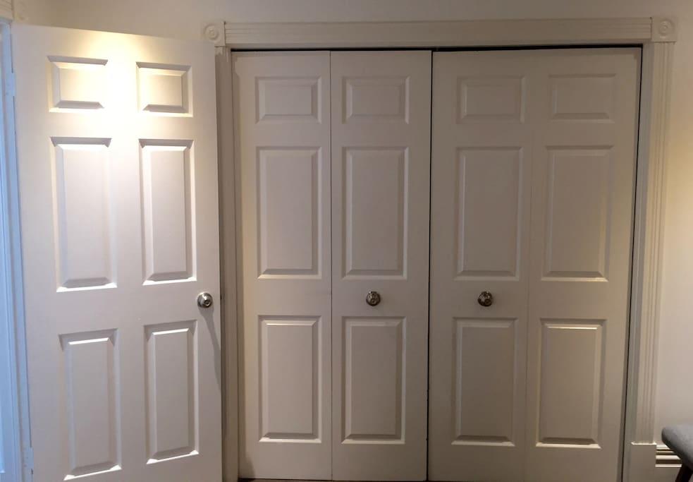 Large Double Closet