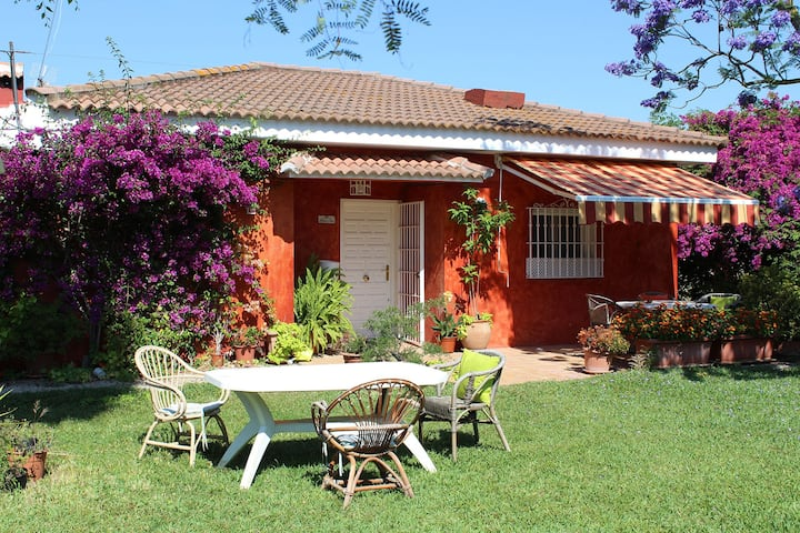 Casa con piscina a 8 km. del centro de Sevilla