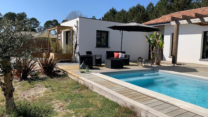 Guest House des ORTOLANS  - Pool, Design & Chic !