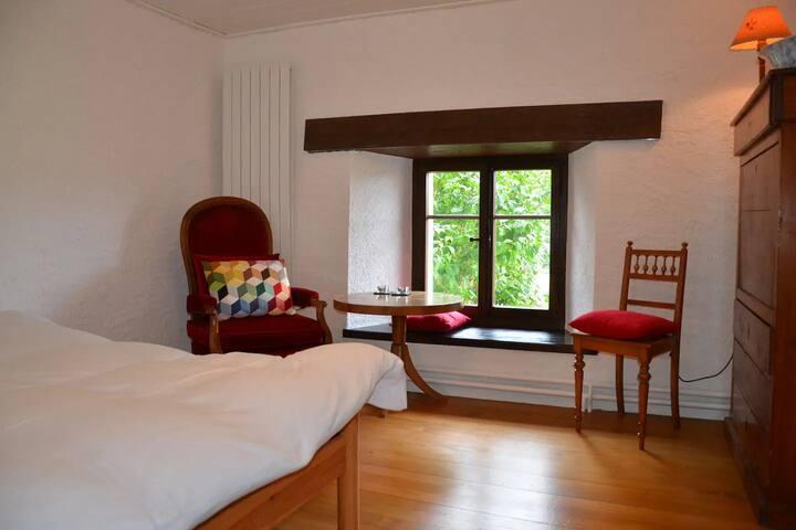 Chambres d'hôtes - BnB Wonderlandscape, (Saignelegier), Bed & Breakfast - Mont-Soleil, (Saignelégier), 1-2 pers., 1 room