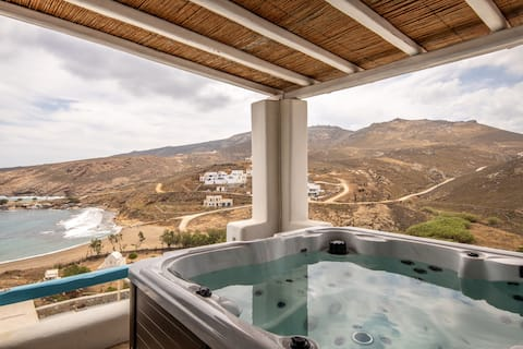 Wild View Mykonos_Villa Ifigenia_Private  Jacuzzi