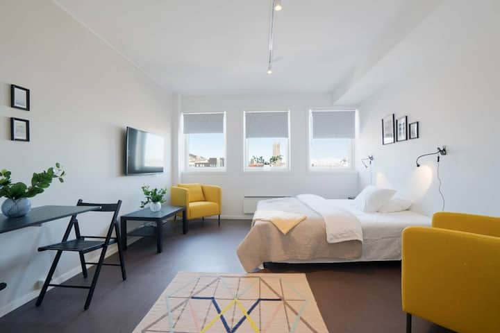 Brand new studio apartments in Tromsø centre! Ap 7