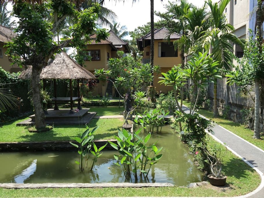 Peaceful place to stay in ubud bali guesthouses for rent for Bali indonesia places to stay
