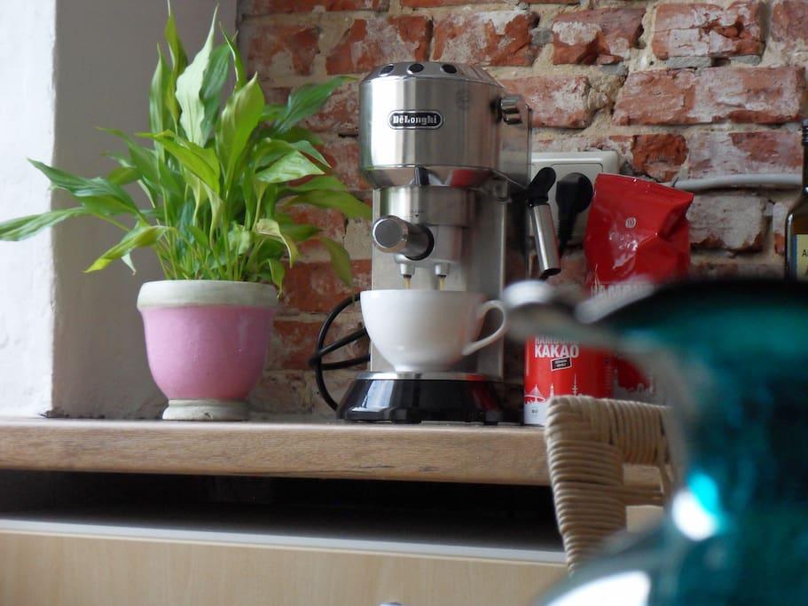 Espresso oder Latte aus dem Siebträger oder soll's der handfeste Filterkaffee sein?