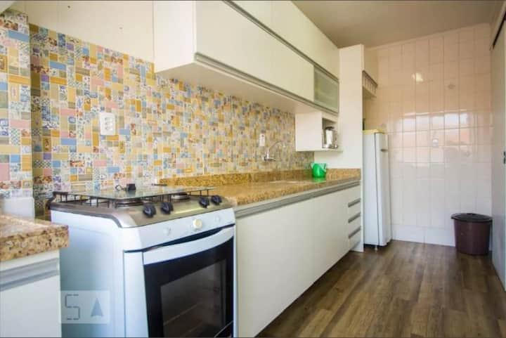 Apartamento impecável, mobiliado - Z/N