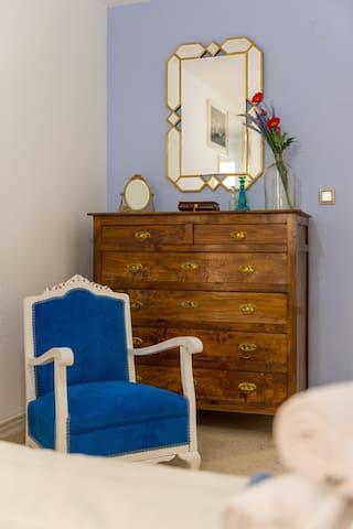 Detalle dormitorio principal