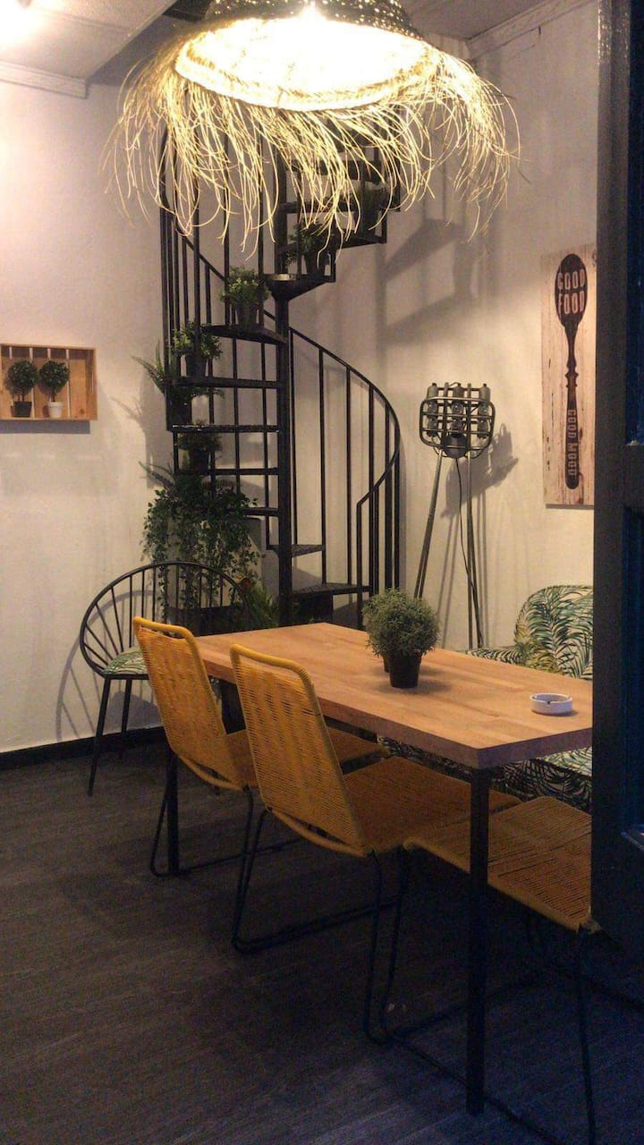 """B&B with terrace in """"Trajano Little's House"""""""