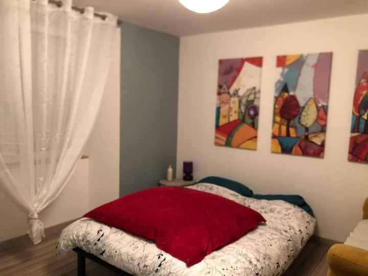 Chambre individuel chez l'habitant tout confort
