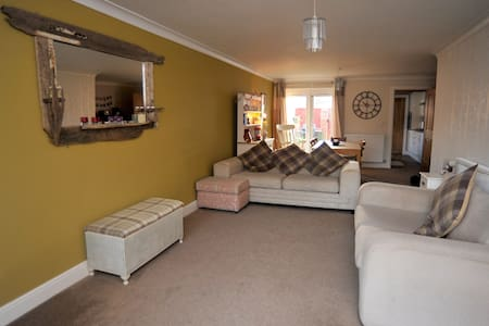 Modern coastal 3 bedroom house in Saltburn - Saltburn-by-the-Sea