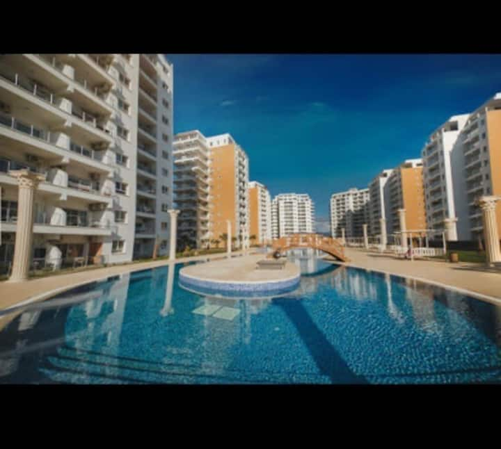 A flat in Caesar Resort, Yeni Iskele, North Cyprus