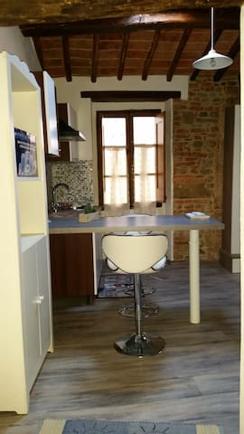 Bellissima Mansardina open space in Umbria italy - Piegaro - Lägenhet