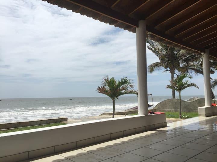 Alquiler casa de playa frente al mar