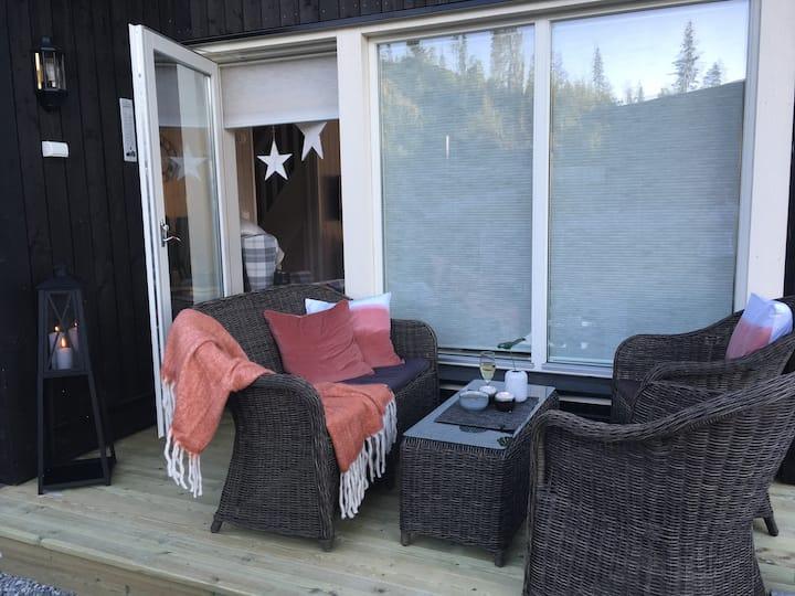 Hjemmekoselig og fin hytte på Hemsedal Golf Alpin