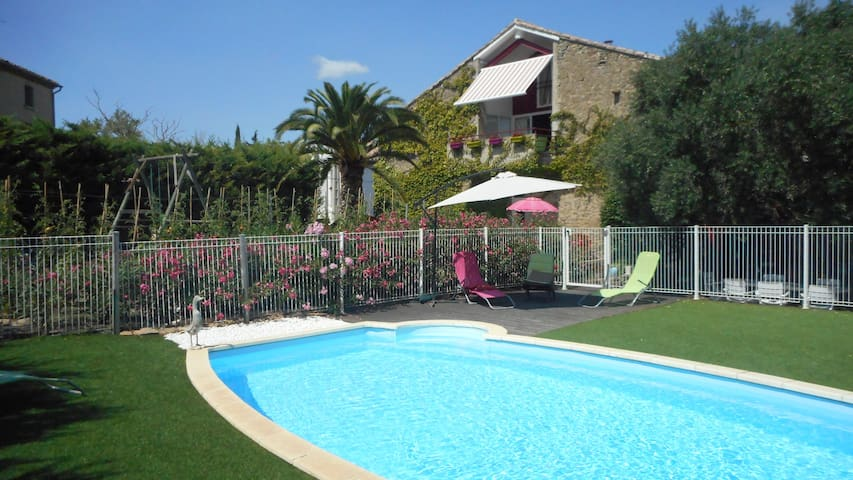 Chambre privée  ave piscine.Entrée indépendante!!! - Tourouzelle - Guesthouse