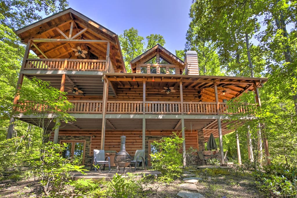 Mountain Blessing Cabins For Rent In Mineral Bluff