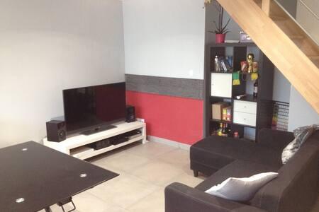 T2 duplex dans ferme rénovée - Cuvat - Apartment