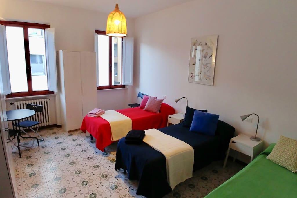 Double / Triple bedroom