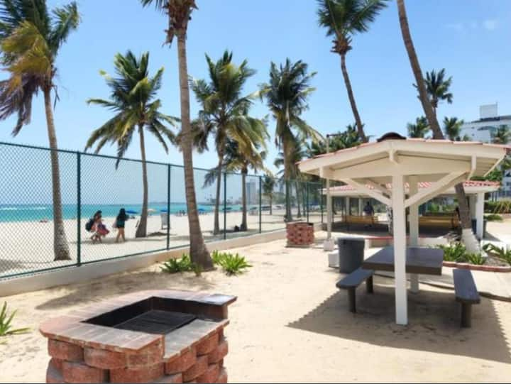 Direct Beach Access One Bedroom with Balcony