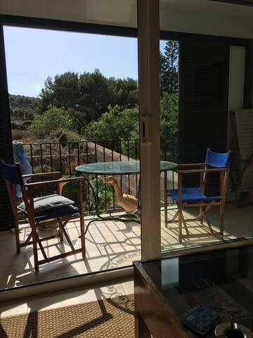 Relajante apartamento con vistas - Es Mercadal