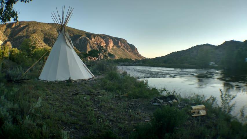 Rio grande tipi - Carson - Tenda Indígena