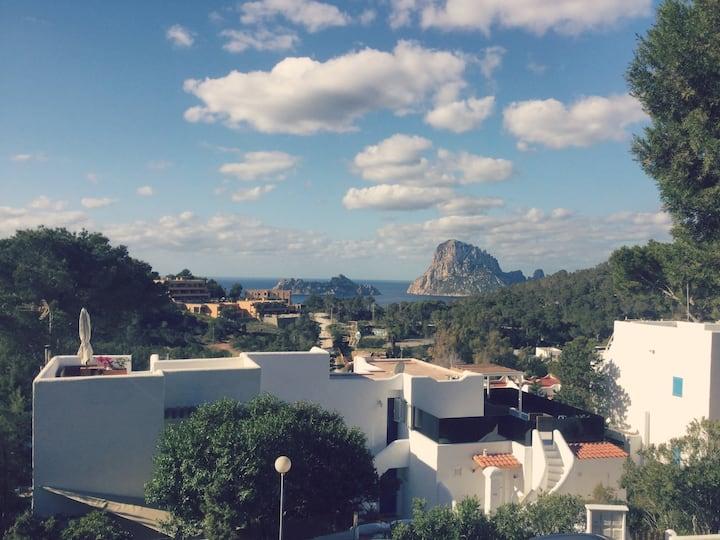 Little Home Ibiza - Cala Vadella - View of EsVedra