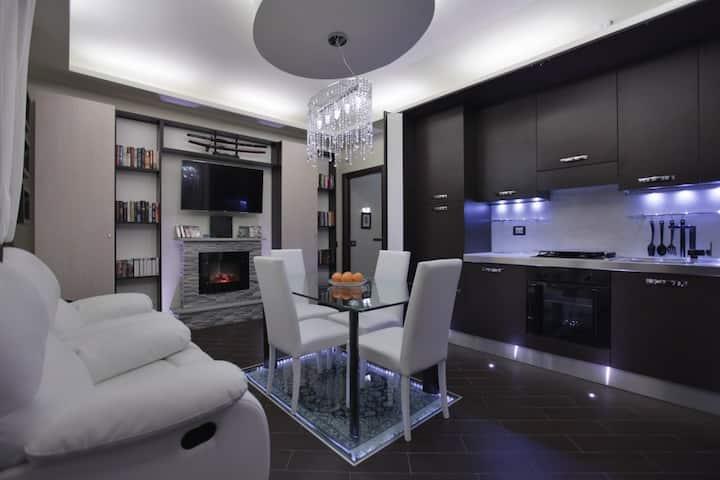 Appartamento 70mq Wi-Fi - Clima - Barbecue