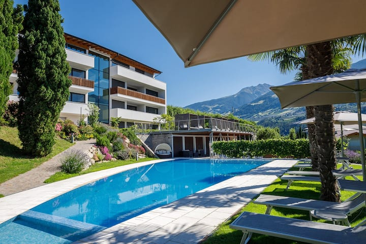 luxery penthouse apartments near merano