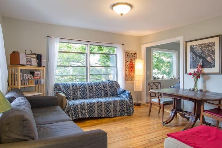 Sunny East Bayside/Munjoy Hill home - Portland - Huis