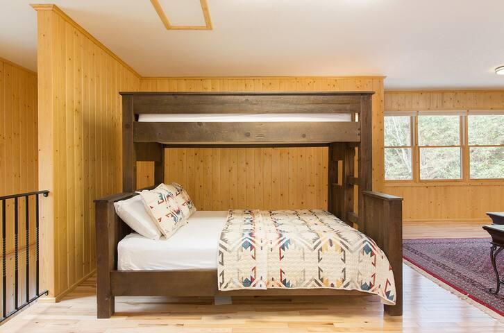 Bunk Bed #1 in Bunk House - Twin over Queen (Sleeps 3)