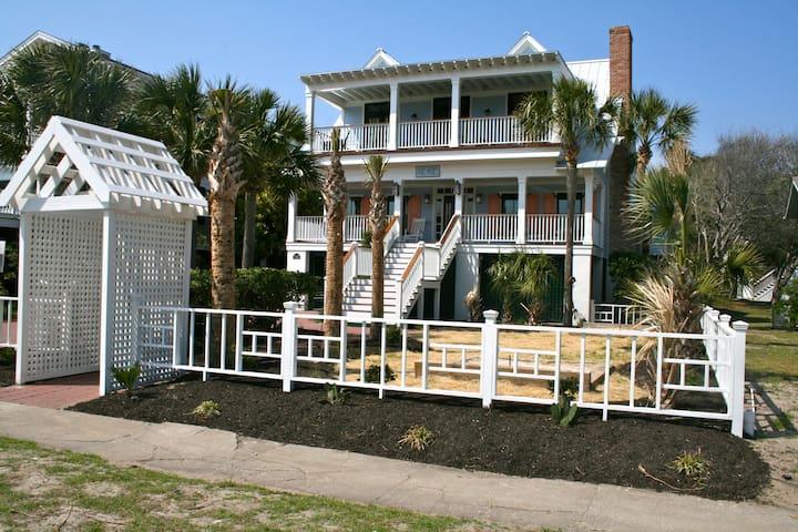 """AERIE:  A """"Coastal Living"""" Beach House - Isle of Palms - Dom"""