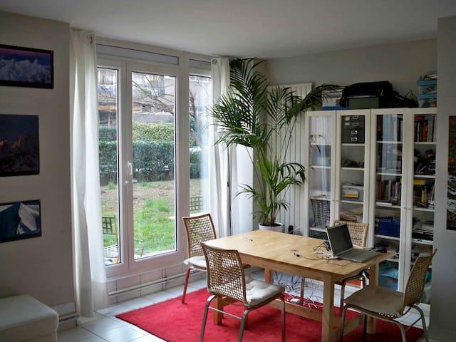 Appartement avec jardin à Grenoble - Grenoble - Apartment