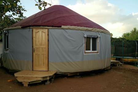 Charming quiet YURT close to Caesarea beach - Pardes Hanna-Karkur - Yurt