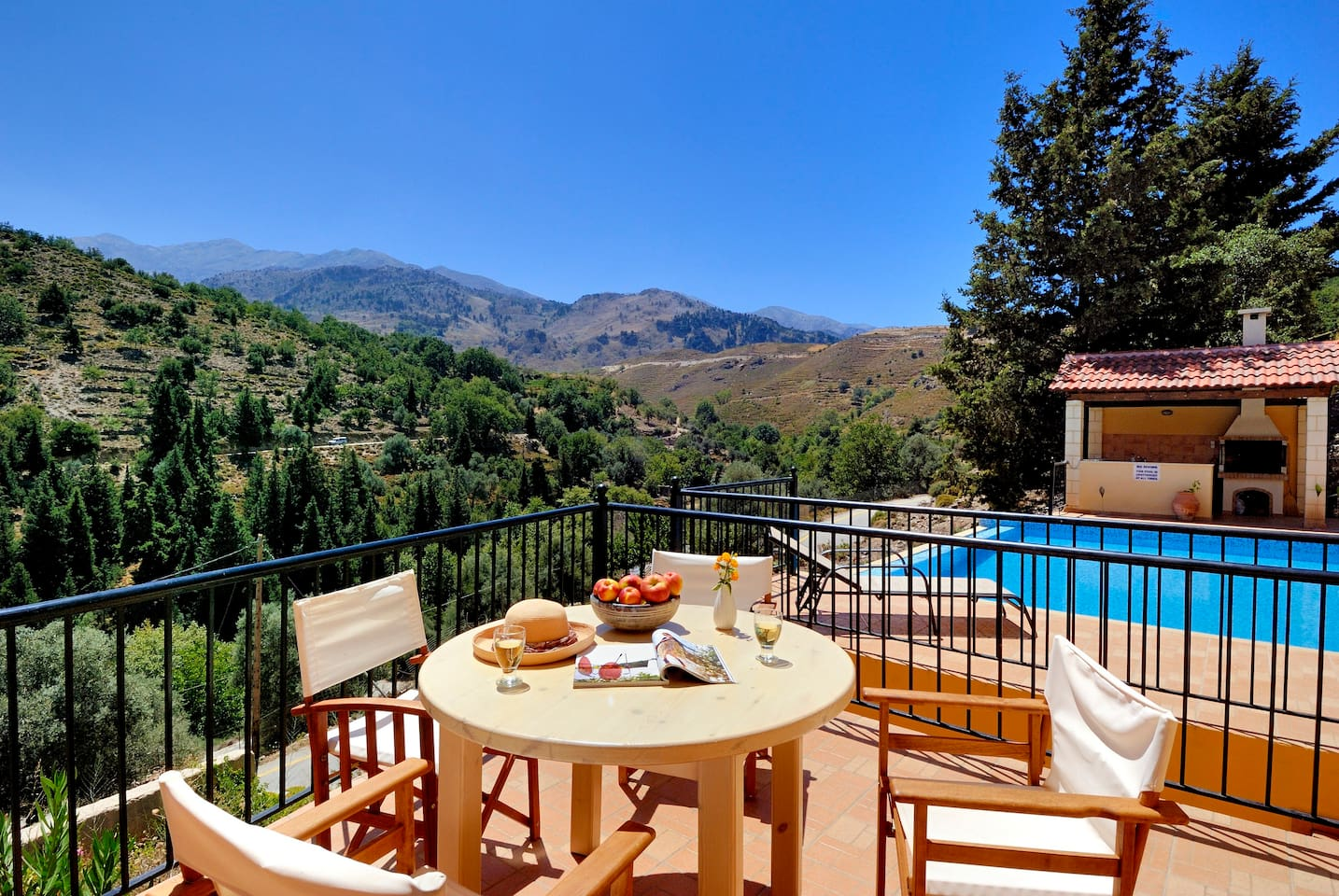 Mountain Villa with Private Pool