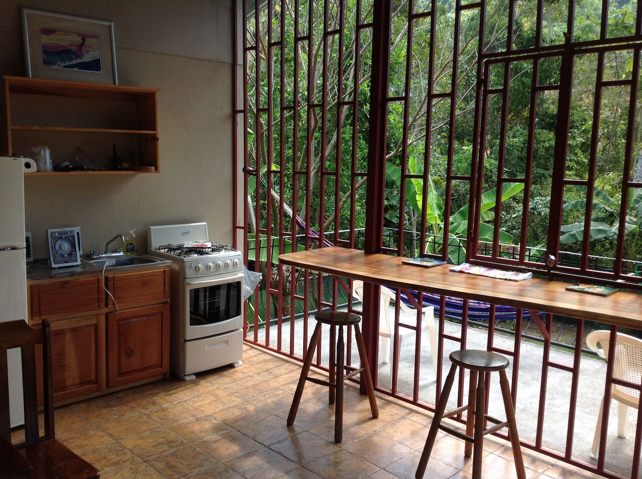 upstairs Kitchen view