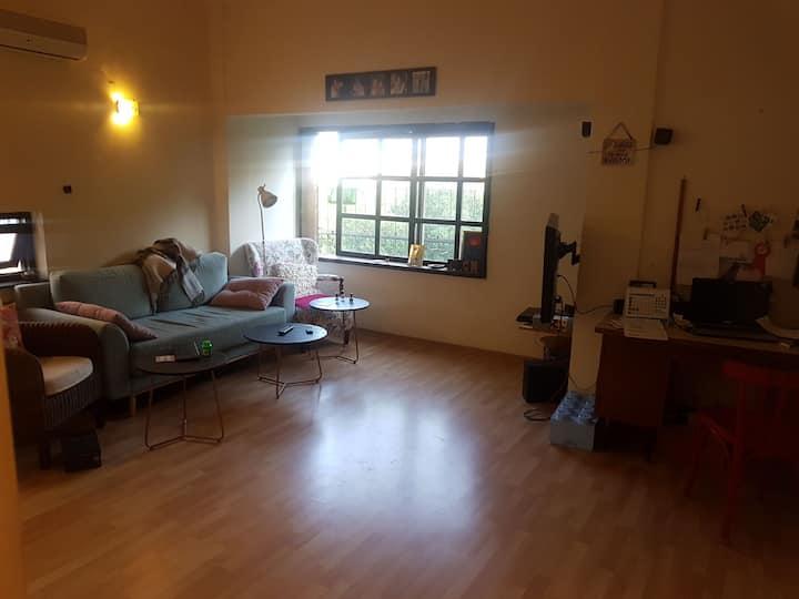 GreaT quite apartment.