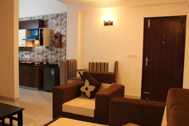 Cozy 1bhk for 4 in Anjuna