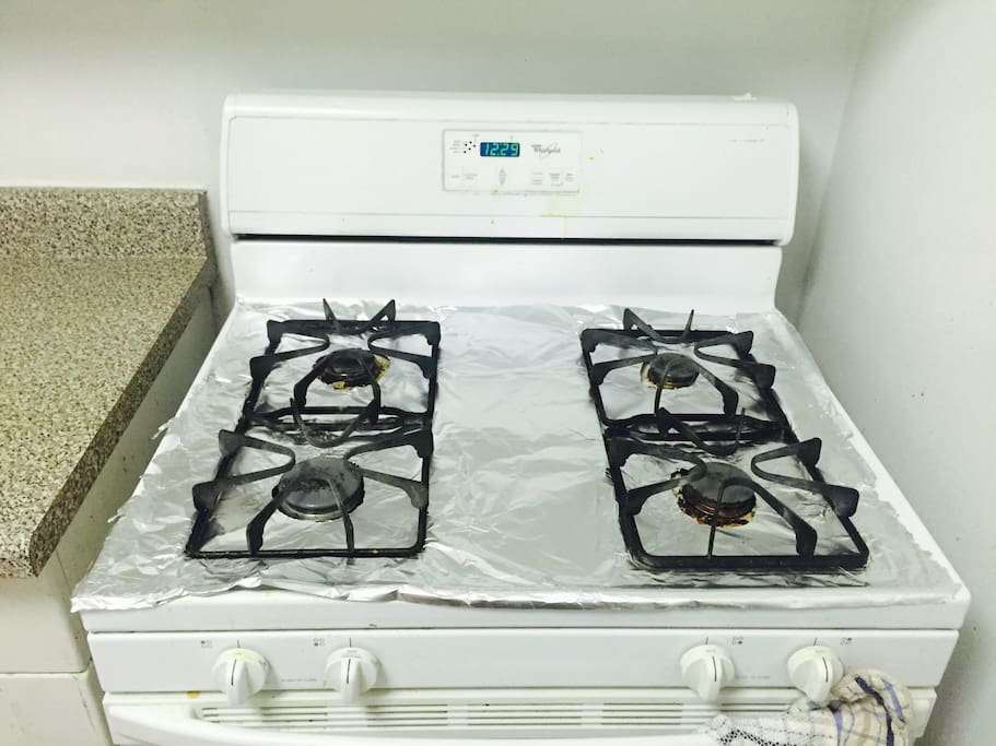 Stove + Convection oven