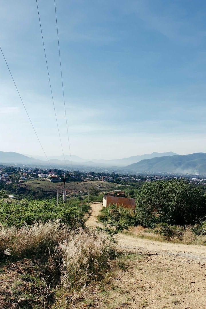 Vista del Valle de Oaxaca