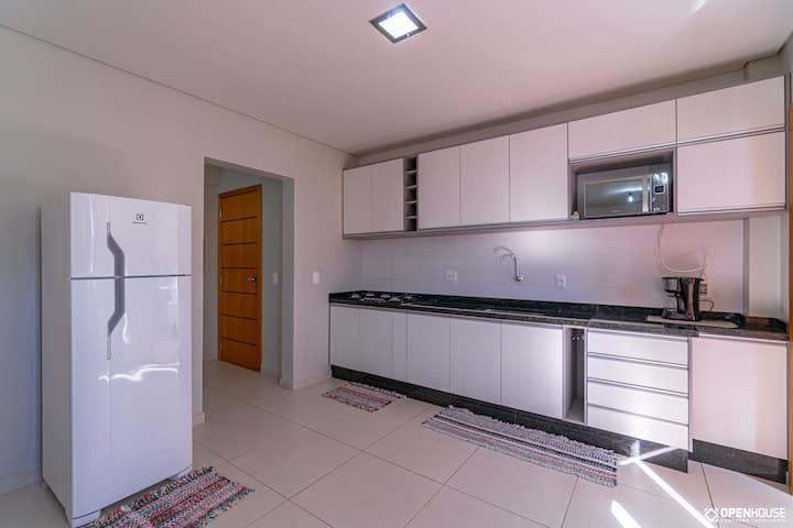 Apartamento novo e mobiliado em Toledo/PR