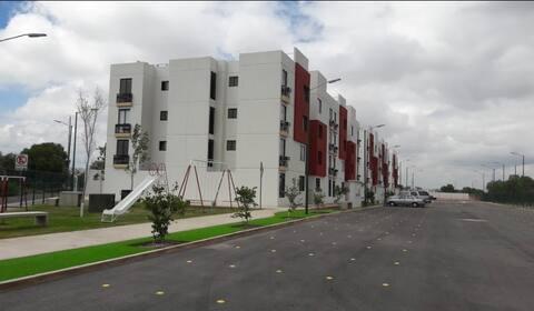 Departamento amueblado, Zona Industrial SLP