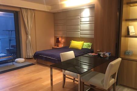 朱美拉公寓20楼套房,朝向小区,近美领、W酒店、兴盛汇酒吧街上 - Гуанчжоу - Квартира