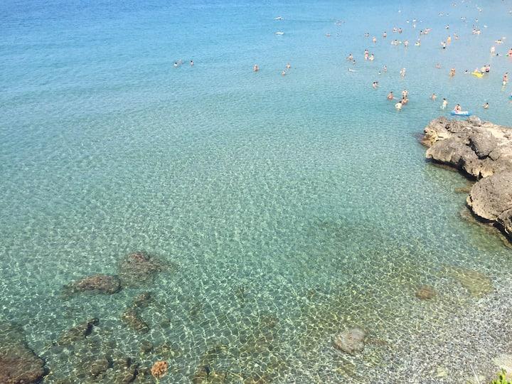 Appartamento sul mare Calanca Marina di Camerota