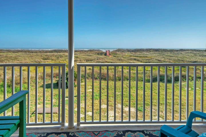 SEASIDE BLESSING *Ocean View *Beachfront *2 POOLS!