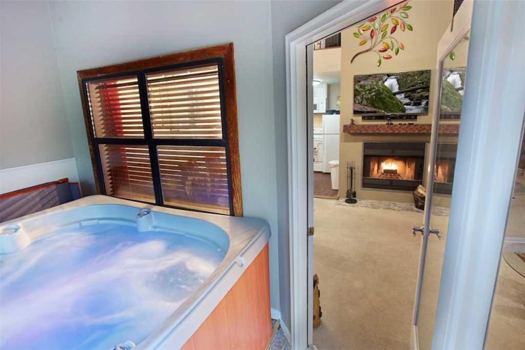 Your own private hot tub - You don't have to share a hot tub with the rest of the townhouse complex; Gatlinburg Village 104 has i
