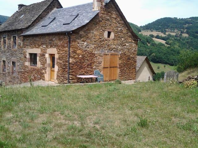 maison de la haute vallée du lot